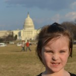 little girl at us capital building