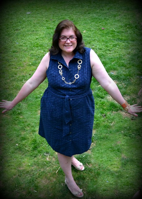 A Great Dress for a Plus Size Girl! Land End Review ...
