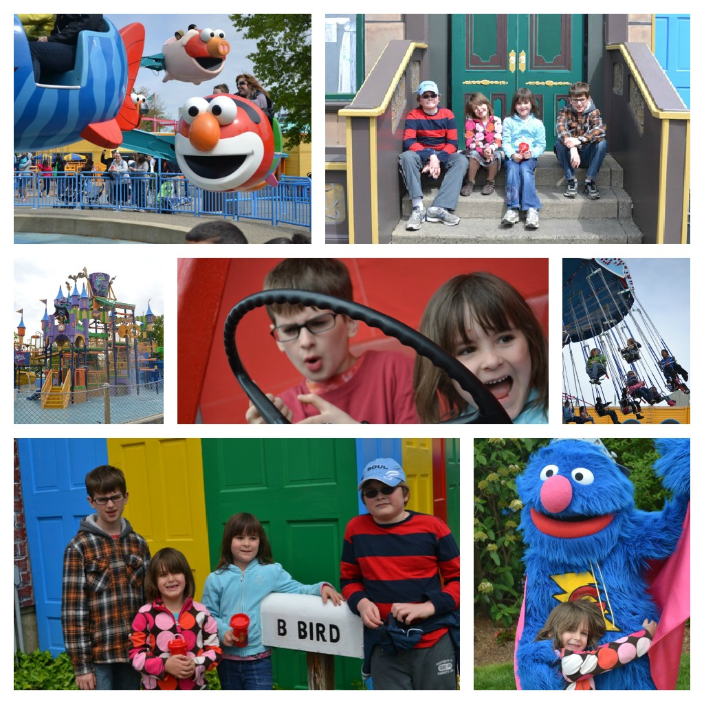 kids at sesame place