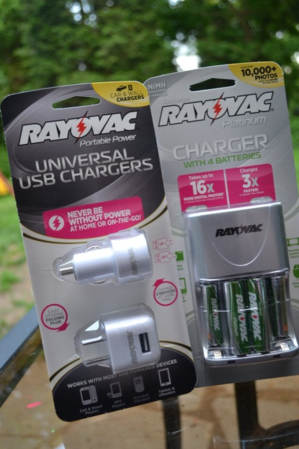 usb chargers and batteries