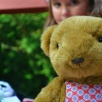 girls teddy bear