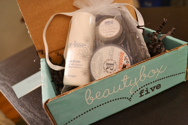 picture of Beauty Box Five packaging