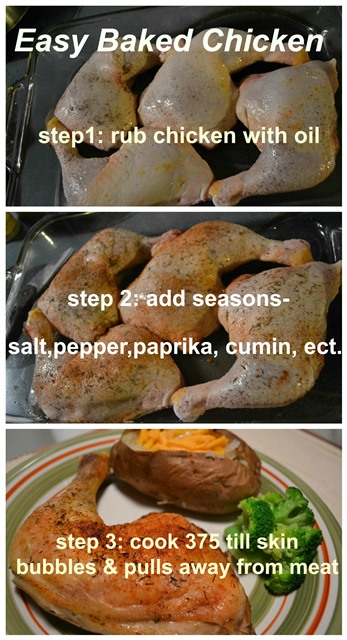 how to make baked chicken