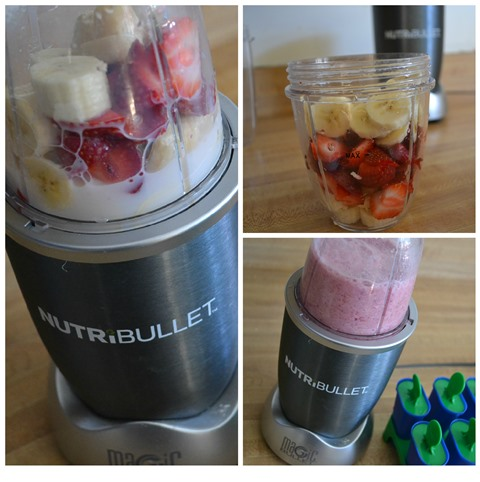 nutribullet making a ice pop