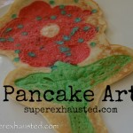pancake drawing