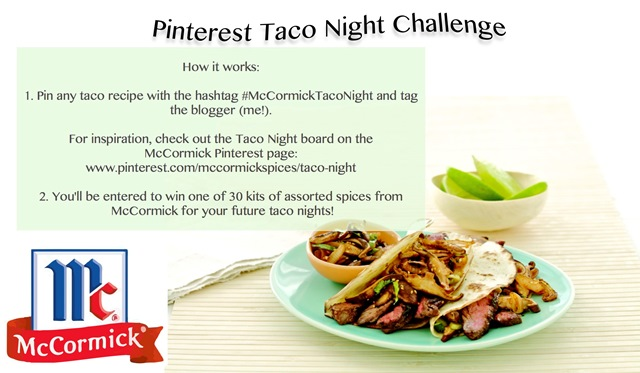 McCormicks Pintrest Challenge Rules