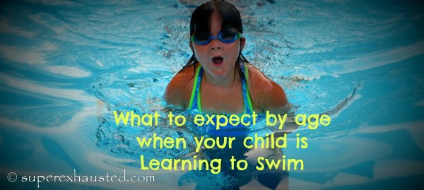 What age can a child realistically learn to swim without ...
