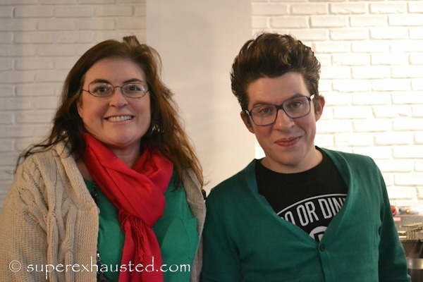 Sherry Aikens and Justin Warner