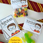 Harry Potter Printable Cards and Favor Bags