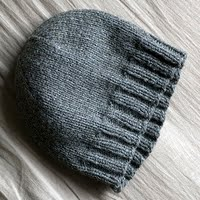 From Nerdy Girls Knits this is hat I knit mine show above are different  because of yarn and needles 2629d2a0616