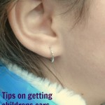 earing on a girl