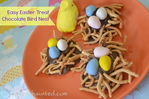 chocolate birds nest