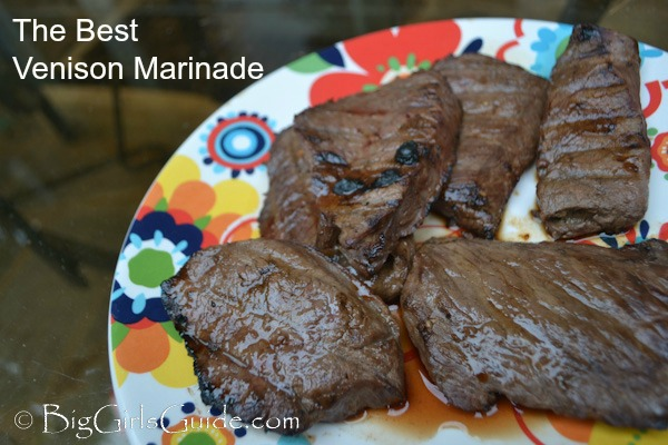 the best venison marinade i grew up in a family where venison deer ...