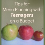 Tips for Menu Planning with Teenagers on a Budget