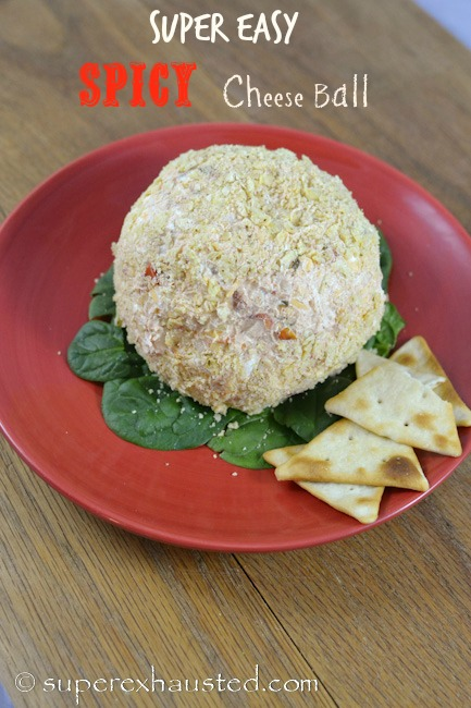 How to Make a spicy cheese ball