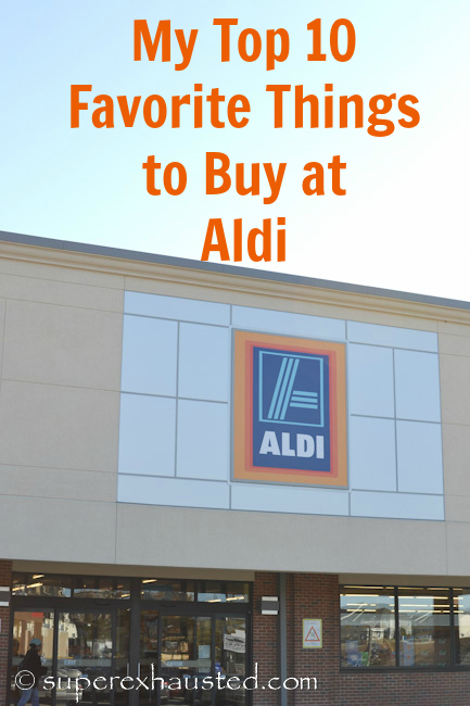 My top 10 Favorite Things to buy at Aldi and Save Frugal living