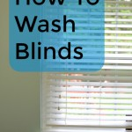 How to wash blinds sleaning clean blinds
