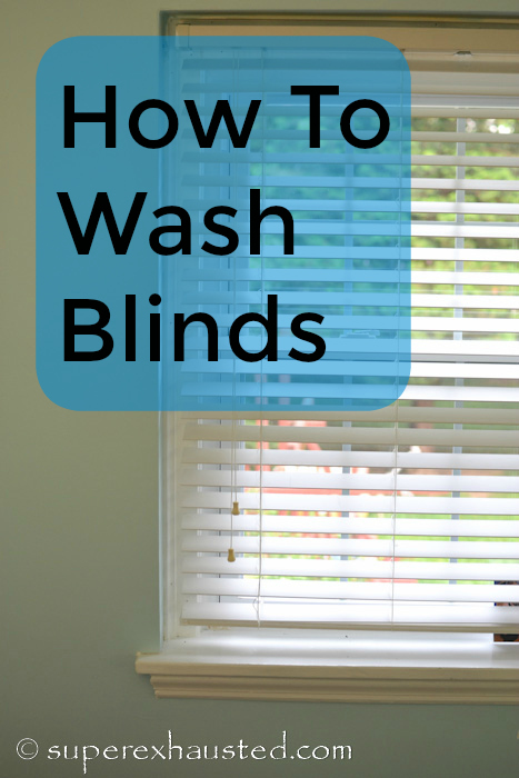 how to wash your window blinds. Black Bedroom Furniture Sets. Home Design Ideas