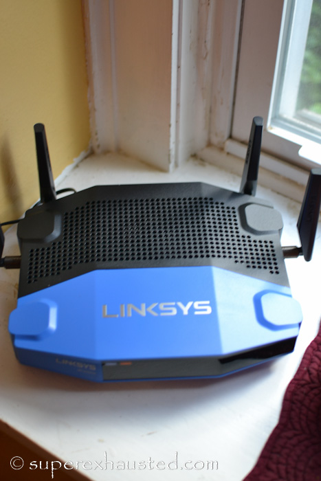 Up grade your internet experience Linksys WRT3200ACM Wi-Fi Router @linksys @bestbuy